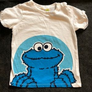 H&M kids Cookie Monster T-shirt
